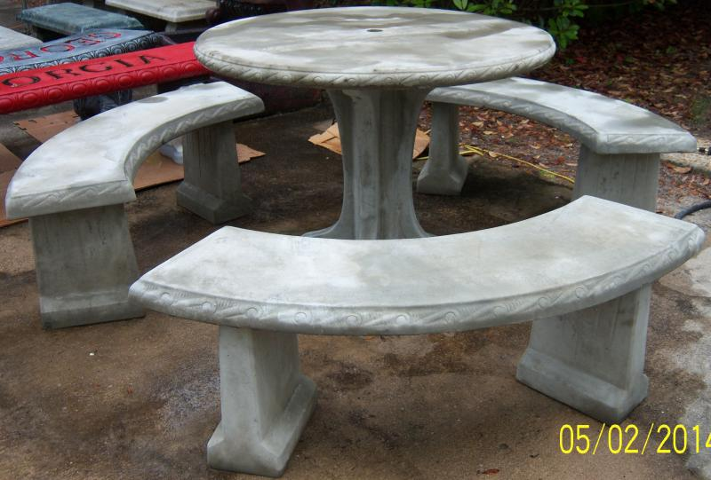 Southern Precast Concrete Tables And Benches